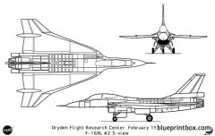 f 16x model airplane plan