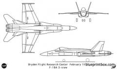 f 18a model airplane plan