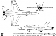 f 18sra model airplane plan