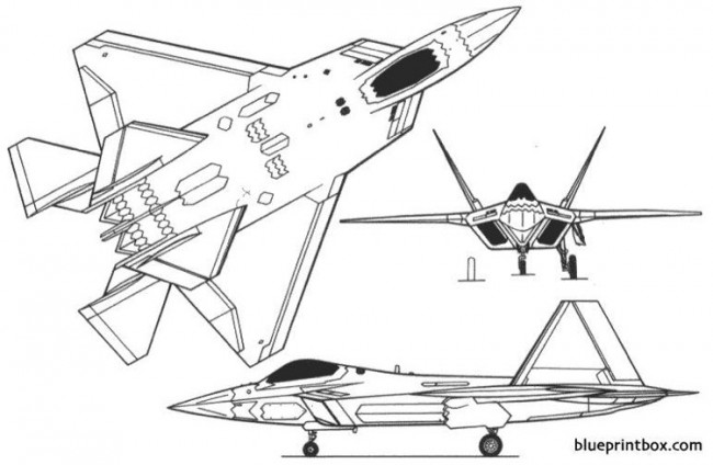 f 22 2 model airplane plan