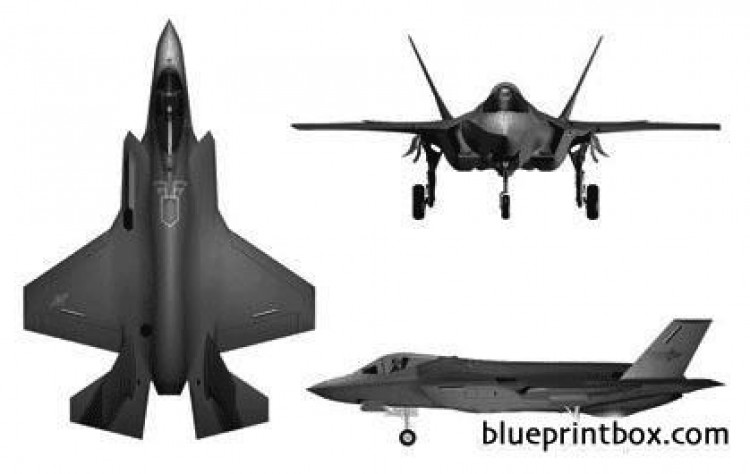 f 35 lightning ii model airplane plan