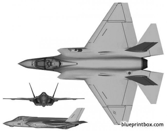 f 35 lightning ii 2 02 model airplane plan