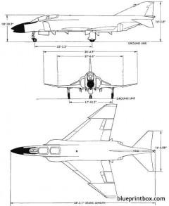 f 4 phantom model airplane plan