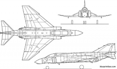f 4 phantom 2 model airplane plan