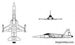 f 5 freedom fighter model airplane plan