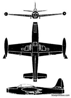 f 84 thunderjet model airplane plan