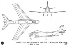 f 86a model airplane plan