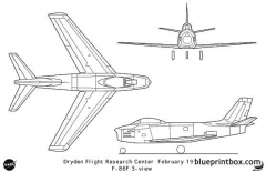 f 86f model airplane plan