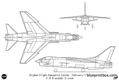 f 8crusader model airplane plan