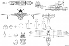 fairchild 91 3 model airplane plan