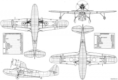 fairchild 91 4 model airplane plan