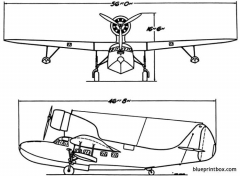 fairchild 91 7 model airplane plan
