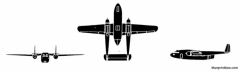 fairchild c 119 packet model airplane plan