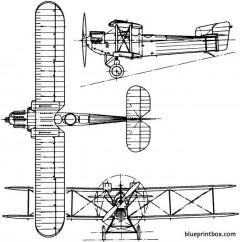 fairey fawn 1923 england model airplane plan