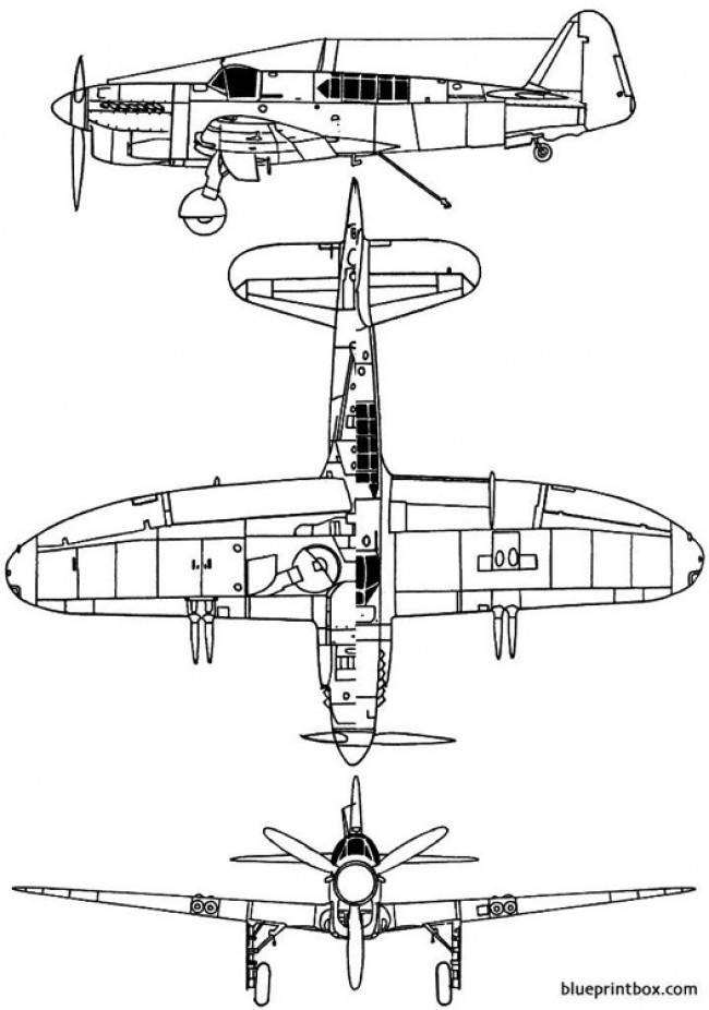 fairey firefly mk i model airplane plan