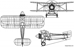 fairey flycatcher 1922 england model airplane plan