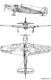fairey fulmar mk i model airplane plan