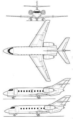falcon30 3v model airplane plan