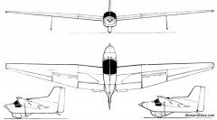 fauvel av 221 model airplane plan