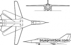 fb 111 model airplane plan