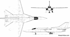 fb 111h concept model airplane plan