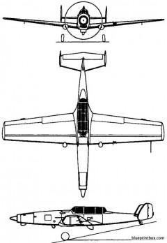 federal aircraft factory c 3605 schlepp 1968 switzerland model airplane plan
