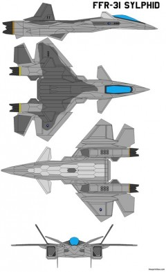 ffr 31 sylphid model airplane plan