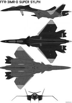 ffr 31mr dsupersylp model airplane plan