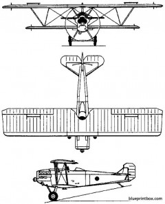 fiat cr20 1926 italy model airplane plan