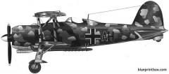 fiat cr42 lw model airplane plan