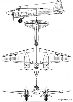 fiat cr 25 model airplane plan