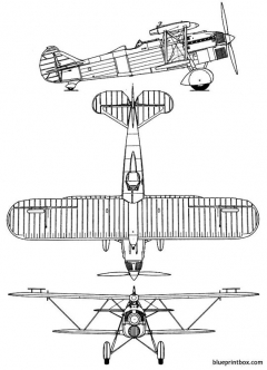 fiat cr 32 model airplane plan