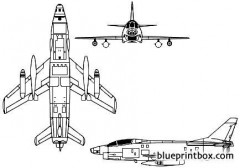 fiat g91y model airplane plan