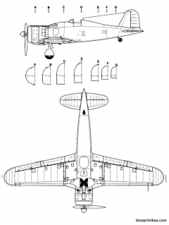 fiat g 50 2 model airplane plan