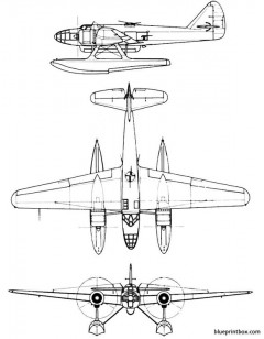 fiat rs 14 model airplane plan