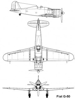 fiatg50 1 3v model airplane plan