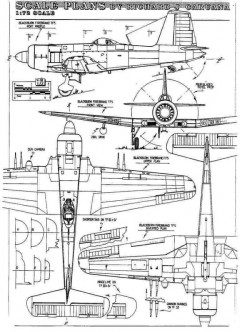 firebrand 3v model airplane plan