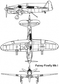firefly 1 3v model airplane plan