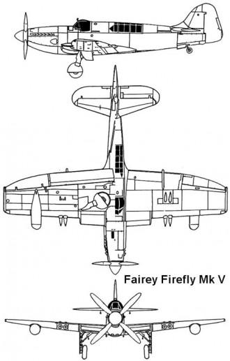 firefly 5 3v model airplane plan