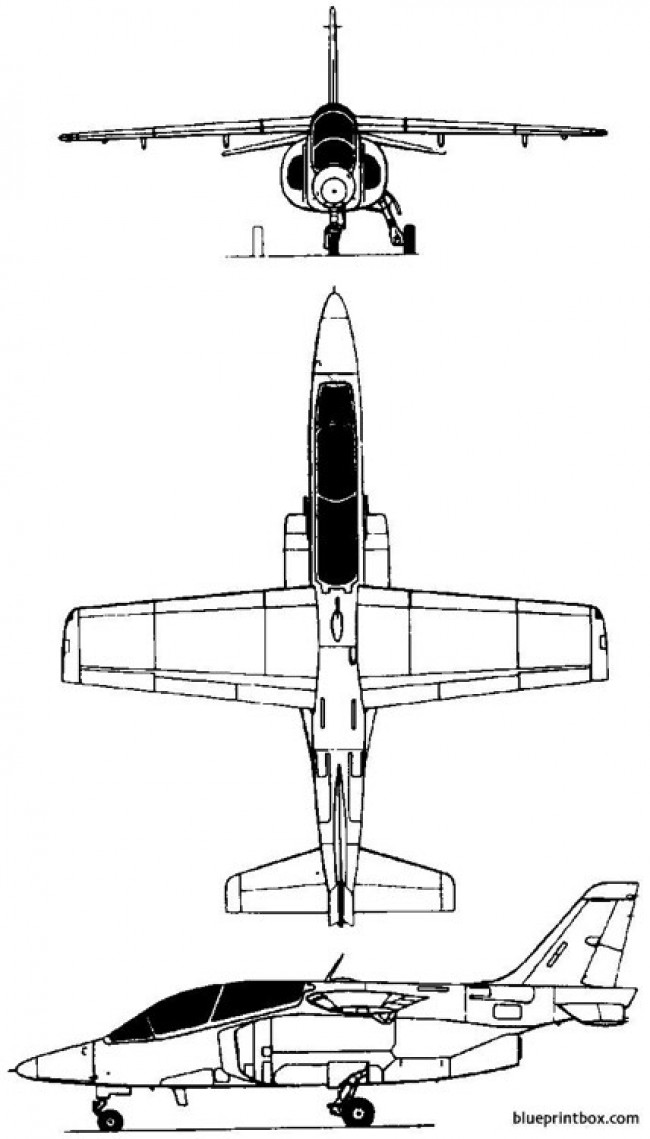 fma ia63 pampa 1984 argentina model airplane plan