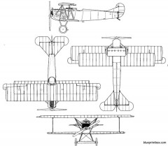 fokker d vii model airplane plan