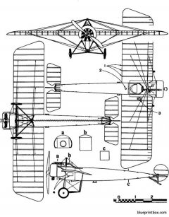 fokker e iii eindecker model airplane plan