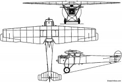 fokker f6 pw 5 1921 holland model airplane plan