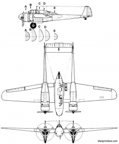 fokker g 1 model airplane plan