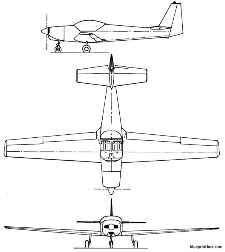 fournier rf 6b model airplane plan