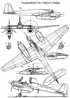 fw187 3v model airplane plan