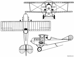 gabardini g9 italy model airplane plan