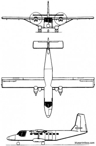gaf n22 nomad 1971 australia model airplane plan