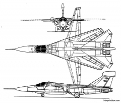 general dynamics ef 111 model airplane plan