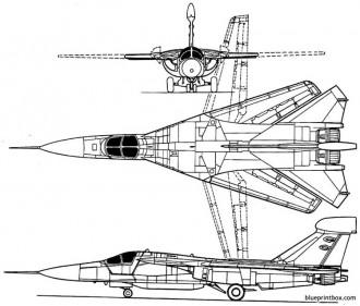 general dynamics ef 111 raven model airplane plan